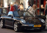 photo of Linda De Mol Porsche - car
