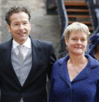Jeroen Dijsselbloem with relaxed, calm, quiet, Wife Jildau Piena
